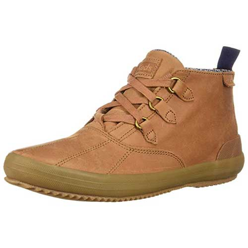 Best Chukka Boots Under 100 for Women 8. Keds Scout Chukka Leather