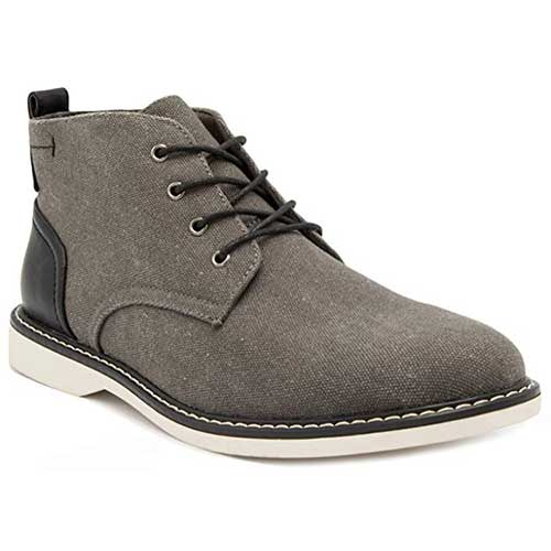 Best Chukka Boots Under 100 for Men 2. London Fog Mens Belmont Chukka Boot