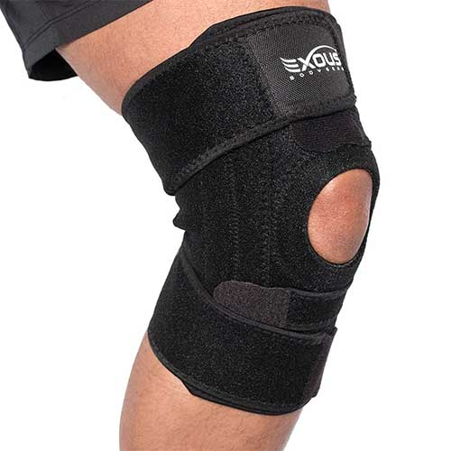 Best Knee Braces for Basketball 4. EXOUS Knee Brace Support Protector