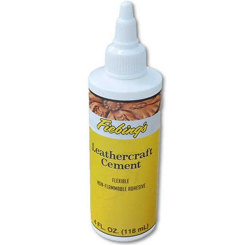 Best Glues To Use on Leather 6. Fiebings Leathercraft Cement 4 oz Glue