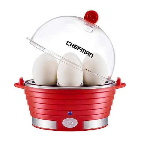 7. Chefman Electric Egg Cooker/Boiler