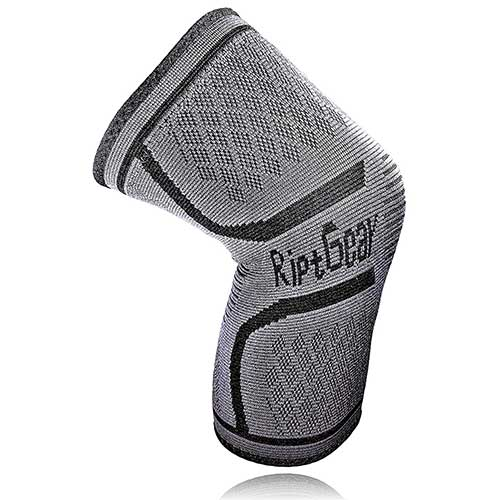 Best Knee Braces for Basketball 7. RiptGear Compression Knee Sleeve - Knee Brace