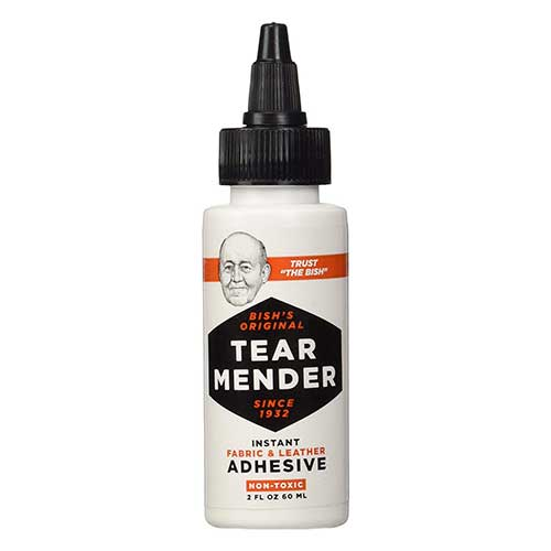 Best Glues To Use on Leather 2. Tear Mender Instant Fabric and Leather Adhesive, 2 oz Bottle, TG-2