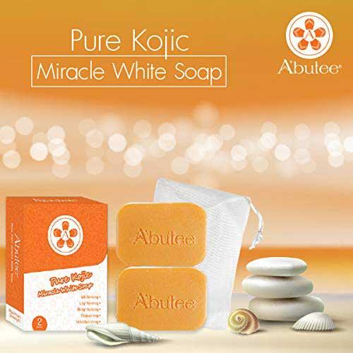 9. A'butee Miracle PREMIUM whitening WHIPP soap - Premium formula