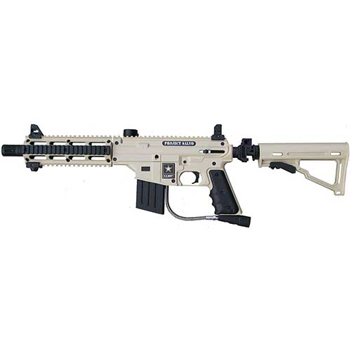 Best Paintball Guns for the Money 8. US Army Project Salvo Paintball Marker Gun