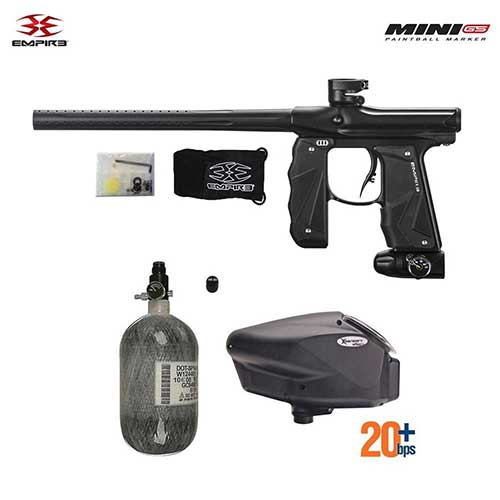 Best Paintball Guns for the Money 10. Empire Mini GS HPA Paintball Gun Package C