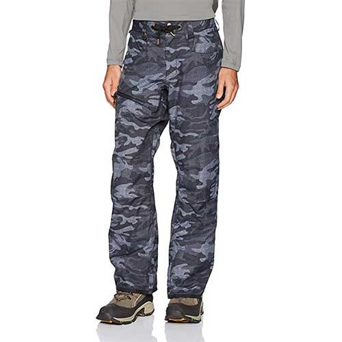 Best Men's Snowboard Pants 7. Quiksilver Men's Forest Oak 15k Snowboard Ski Pants