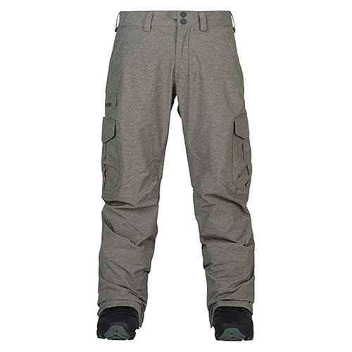 Best Men's Snowboard Pants 5. Burton Men's Cargo Pant-Mid