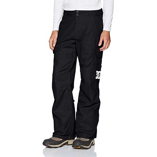 Best Men's Snowboard Pants 3. DC Men's Banshee 10k Water Proof Snowboard Pants
