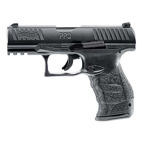Best Paintball Guns for the Money 3. T4E Umarex .43cal Walther PPQ Paintball Pistol BLACK semi auto CO2 magazine