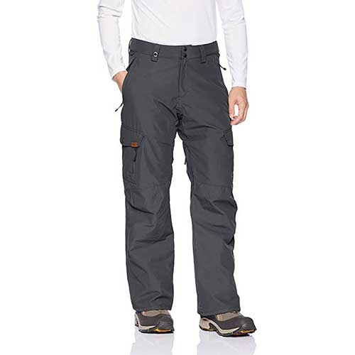 Best Men's Snowboard Pants 4. Quiksilver Men's Porter Shell 10k Snowboard Ski Pants