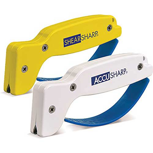 Best Scissor Sharpeners 8. Sharpener Combo Pack by AccuSharp