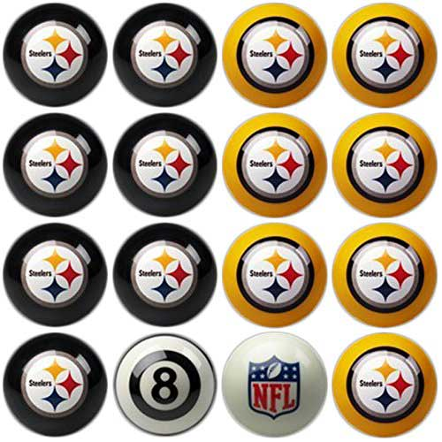 9. Imperial Officially Licensed NFL Home vs. Away Team Billiard/Pool Balls, Complete 16 Ball Set