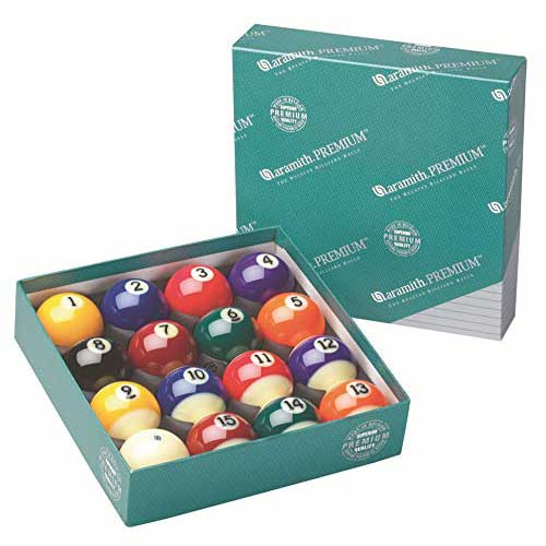 1. Aramith Pure Phenolic Pool Balls Regulation Belgian Made Billiard Ball Set