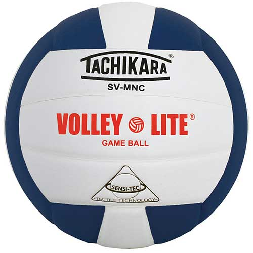10. Tachikara SV-MNC Volley-Lite Volleyball