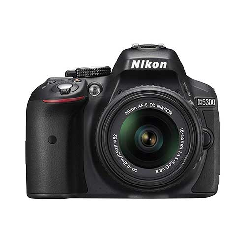 Best Cameras for Youtube Live Streaming 9. Nikon D5300 24.2 MP CMOS Digital SLR Camera with 18-55mm f/3.5-5.6G ED VR Auto Focus-S DX NIKKOR Zoom Lens (Black)