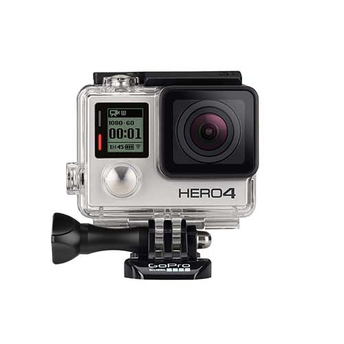 Best Cameras for Youtube Live Streaming 10. GoPro HERO4 Silver