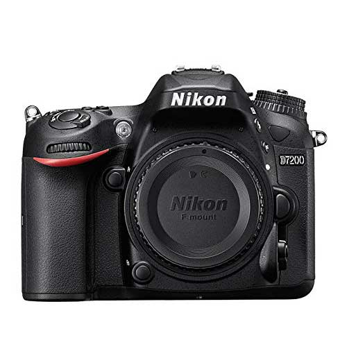 Best Cameras for Youtube Live Streaming 5. Nikon D7200 DX-format DSLR Body (Black)