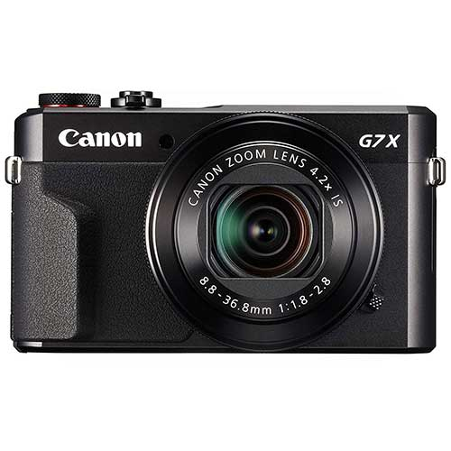 Best Cameras for Youtube Live Streaming 4. Canon PowerShot Digital Camera [G7 X Mark II] with Wi-Fi & NFC, LCD Screen, and 1-inch Sensor - Black