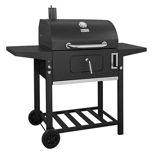 3. Royal Gourmet CD1824A Charcoal Grill,BBQ Outdoor Picnic, Camping, Patio Backyard Cooking, Black