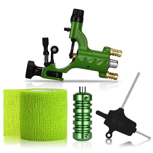 8. ATOMUS Rotary Tattoo Machine Gun Kit Professional Liner Shader Tattoo Motor Machine