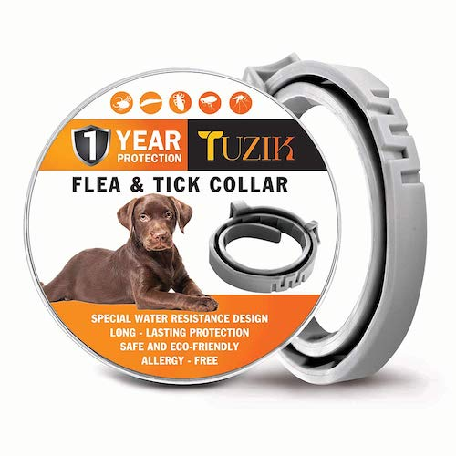 3. TUZIK Flea Collar for Dogs - 12 Months Flea and Tick Prevention - Dog Flea and Tick Treatment