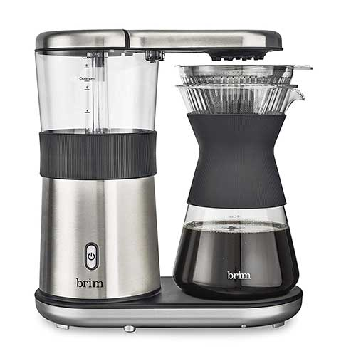 10. Brim 8-Cup Pour-over Coffee Maker