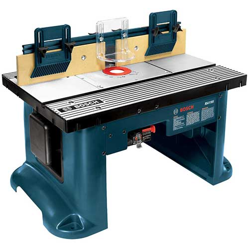 Best Benchtop Jointers 4. Bosch Benchtop Router Table RA1181