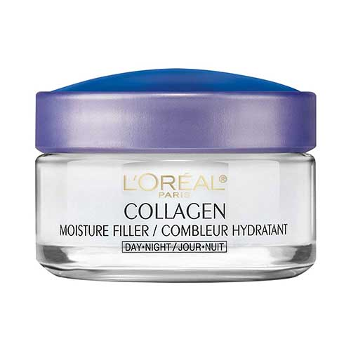 2. Collagen Face Moisturizer by L'Oreal Paris, Anti-Aging Day Cream and Night Cream to Smooth Wrinkles