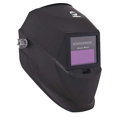 9. by Miller Electric Welding Helmet, Shade 3 and 8-12, Black