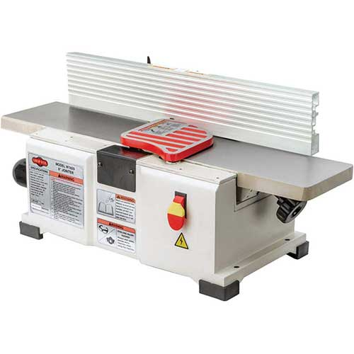 7. Shop Fox W1829 Benchtop Jointer, 6-Inch