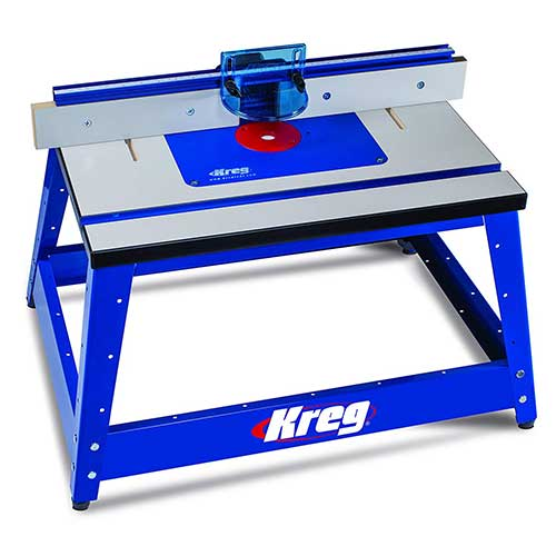 Best Benchtop Jointers 5. Kreg PRS2100 Bench Top Router Table