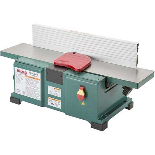 6. Grizzly G0725 6 by 28-Inch Benchtop Jointer