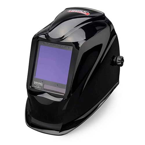 4. by Lincoln Electric Welding Helmet, Black, 3350 Series