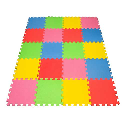 7. Angels 20 XLarge Foam Mats Toy ideal Gift, Colorful Tiles Multi Use, Create & Build A Safe PLay Area Interlocking Puzzle eva Non-Toxic Floor