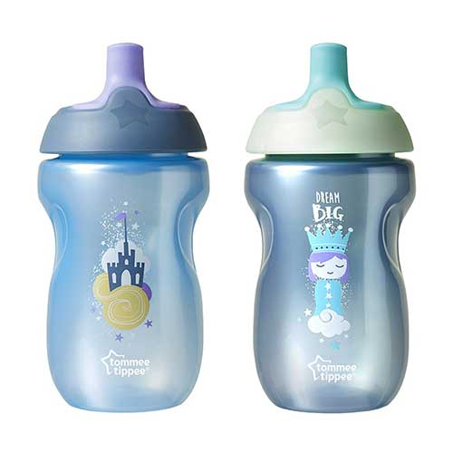 Best Sippy Cup for 6 Month Old Breastfed Baby 6. Tommee Tippee Toddler Sportee Sippy Cup - 12+ months