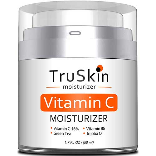 9. BEST Vitamin C Moisturizer Cream for Face, Neck & Décolleté. 1.7 Fl. Oz by TruSkin Naturals