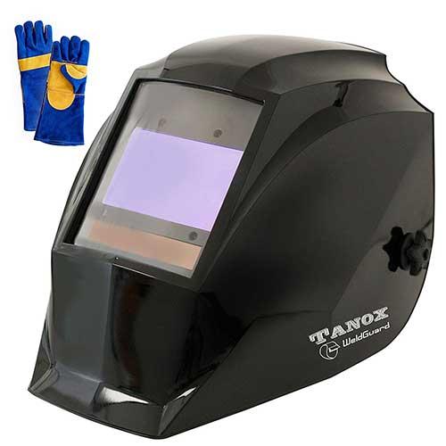 10. Digital Control Auto Darkening Solar Powered Welding Helmet ADF-210S, Solar Shade Lens, Tig Mig MMA, Adjustable Range 4/9-1316