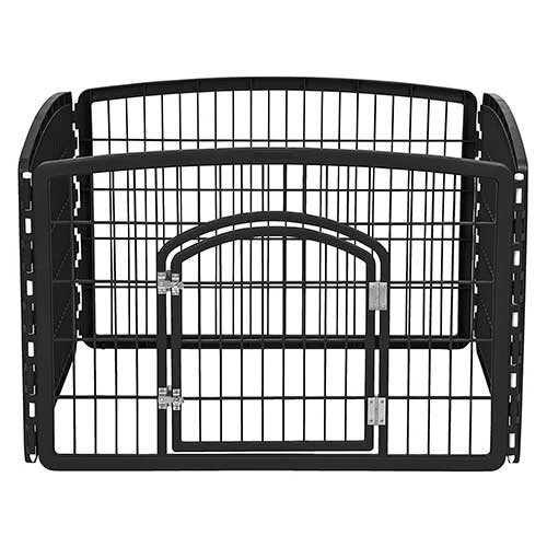 4. IRIS Pet Playpen with Door, 24-Inch