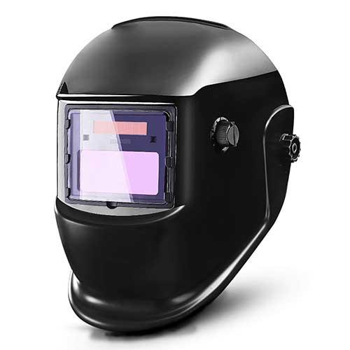 8. DEKOPRO Auto Darkening Solar Welding Helmet ARC TIG MIG Weld Welder Lens Grinding Mask New Black Design