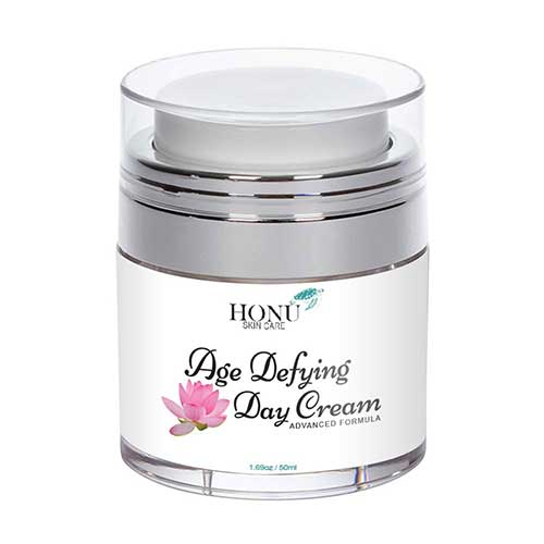 4. Anti-Aging Face Cream & Wrinkle Cream - Perfect Day Cream Face Moisturizer - Proprietary Face Lotion Formula by Honu