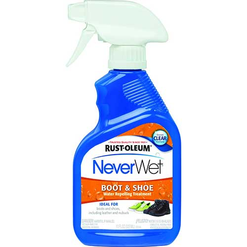 6. Rust-Oleum 280886 NeverWet 11-Ounce Boot and Shoe Spray