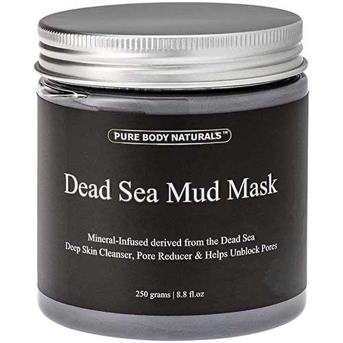5. Pure Body Naturals Dead Sea Mud Mask