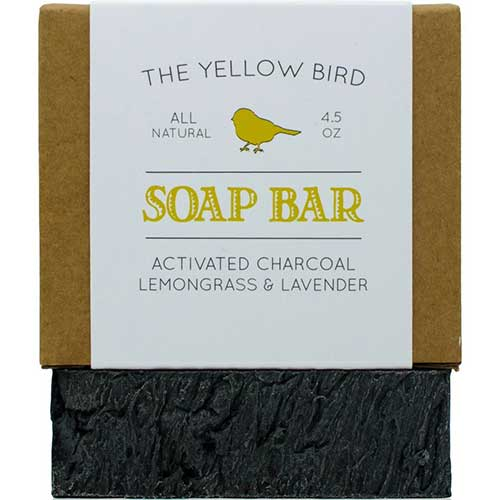 2. Activated Charcoal Soap Bar. All Natural Detoxifying Face & Body Cleanser. Certified Organic Ingredients