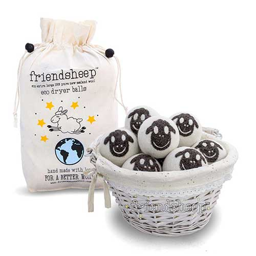2. Friendsheep Organic Eco Wool Dryer Balls