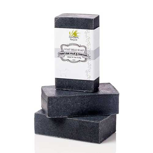 1. Activated Charcoal Soap Bars With Dead Sea Mud - For Acne, Psoriasis & Eczema. All Natural Face Soap & Body Soap
