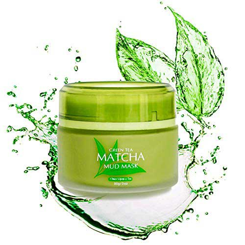 7. Green Tea Matcha Facial Mud Mask