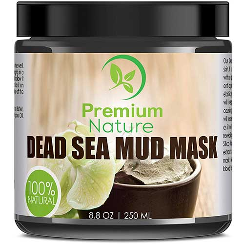 10. Dead Sea Mud Mask for Face and Body - 8.8 oz Melts Cellulite Treats Acne Strech Mark Removal