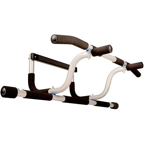 6. Ultimate Body Press XL Doorway Pull Up Bar with Elevated Bar & Adjustable Width