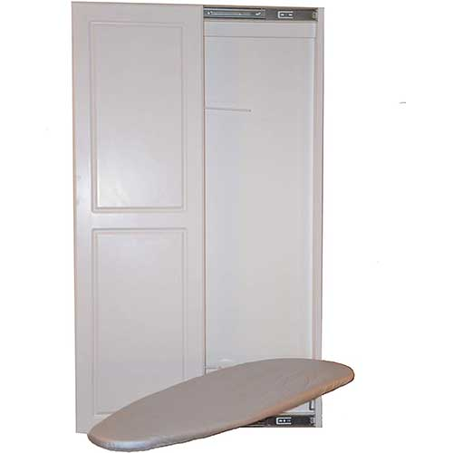 4. Slide-Away Ironing Boards Double Panel Door